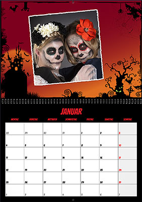 Fotokalender Happy Horror