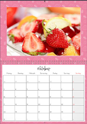 Fotokalender Fresh Kitchen