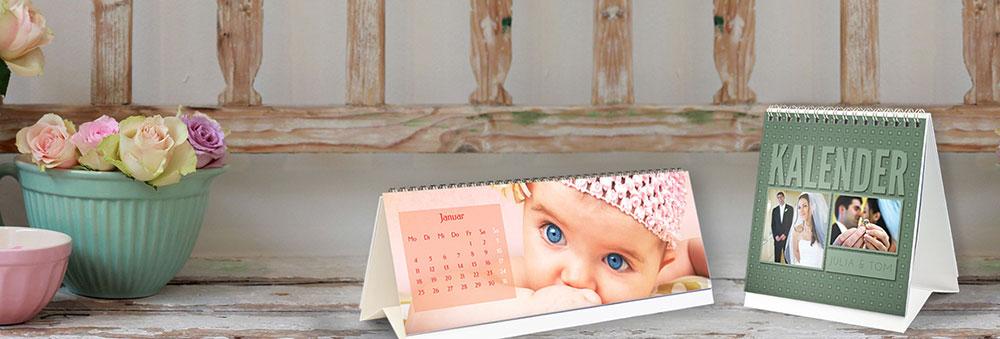 Fotokalender im Tischkalender-Format